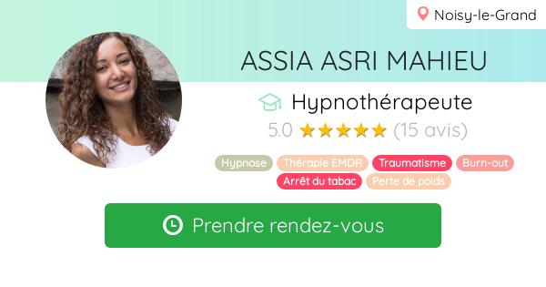 Consulter le profil de Assia MAHIEU