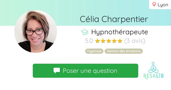 Consulter le profil de Célia Charpentier sur Resalib l'annuaire des médecines douces et des thérapeutes