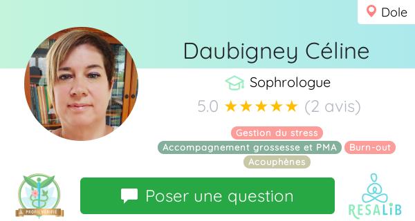 Consulter le profil de Daubigney Céline sur Resalib l'annuaire des médecines douces et des thérapeutes