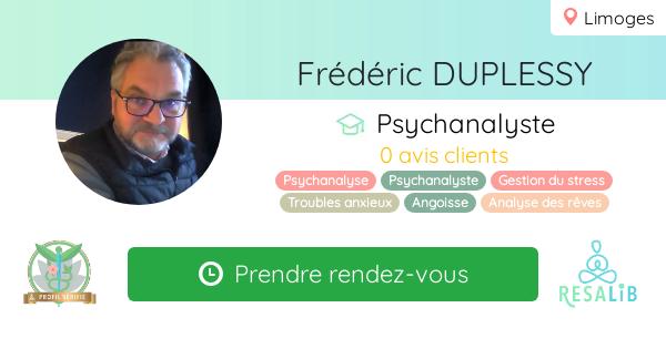 Consulter le profil de Frédéric DUPLESSY