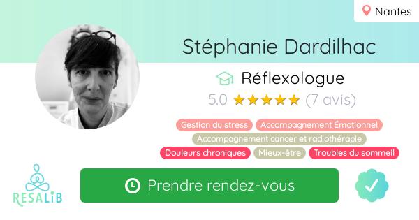 Consulter le profil de Stéphanie Dardilhac sur Resalib l'annuaire des médecines douces et des thérapeutes