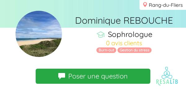 Consulter le profil de Dominique REBOUCHE
