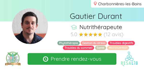 Consulter le profil de Gautier Durant