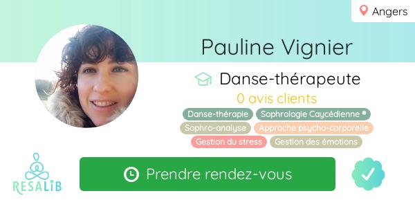Consulter le profil de Pauline Vignier sur Resalib l'annuaire des médecines douces et des thérapeutes