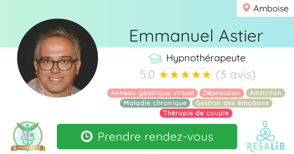 Consulter le profil de Emmanuel Astier sur Resalib l'annuaire des médecines douces et des thérapeutes