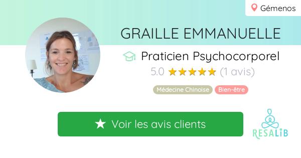 Prenez rendez-vous avec GRAILLE EMMANUELLE