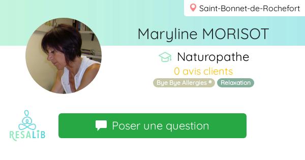 Prenez rendez-vous avec MORISOT Maryline