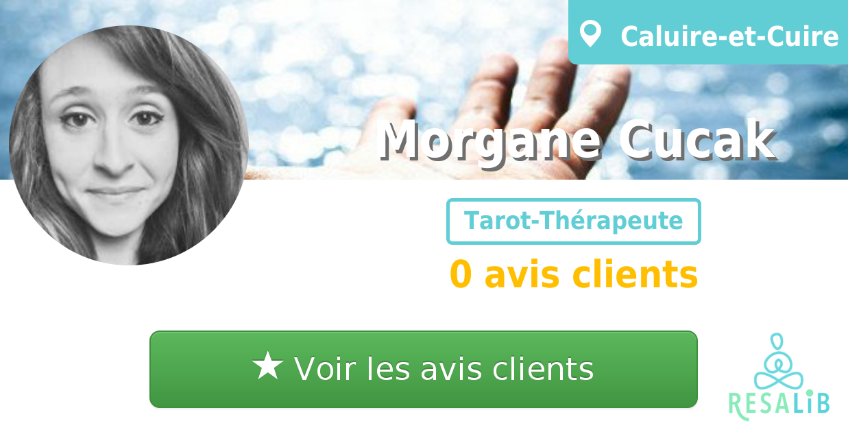 Prenez renez-vous avec Morgane Cucak