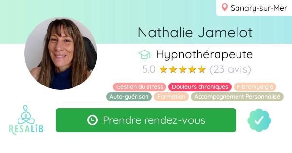 Consulter le profil de Nathalie Jamelot sur Resalib l'annuaire des médecines douces et des thérapeutes