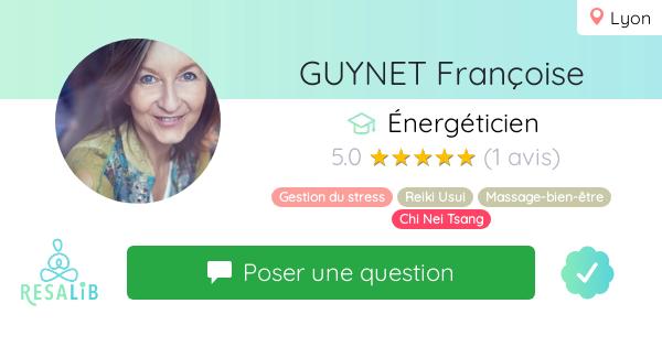 Prenez rendez-vous avec GUYNET Françoise
