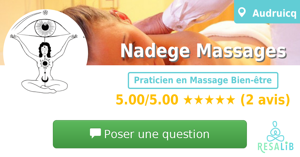 Prenez rendez-vous avec Nadege Massages