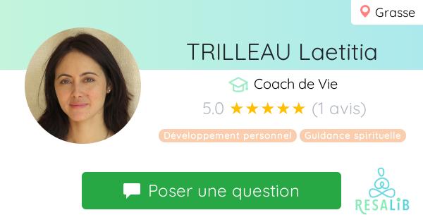 Prenez rendez-vous avec Laetitia Trilleau
