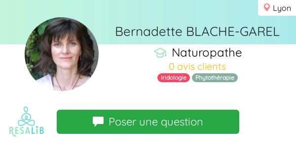 Consulter le profil de Bernadette BLACHE-GAREL
