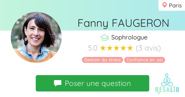 Consulter le profil de FANNY FAUGERON-KIMHI