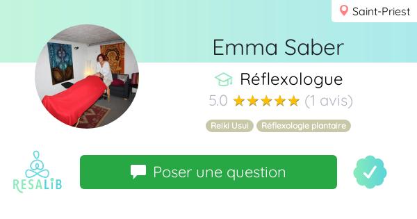 Consulter le profil de Emma Saber