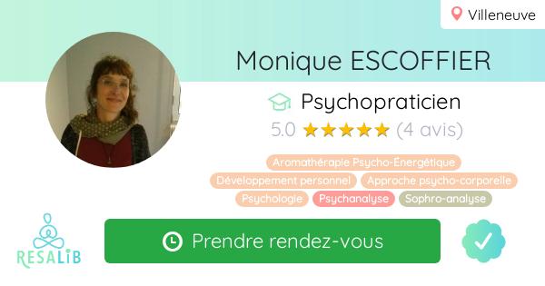 Consulter le profil de Monique ESCOFFIER