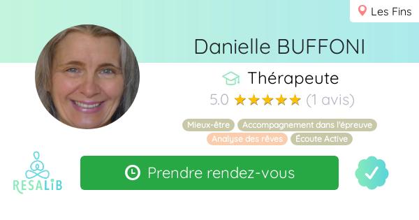 Consulter le profil de Danielle BUFFONI sur Resalib l'annuaire des médecines douces et des thérapeutes