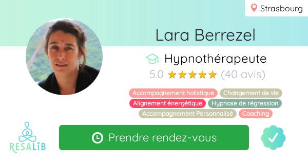 Consulter le profil de Lara Berrezel sur Resalib l'annuaire des médecines douces et des thérapeutes