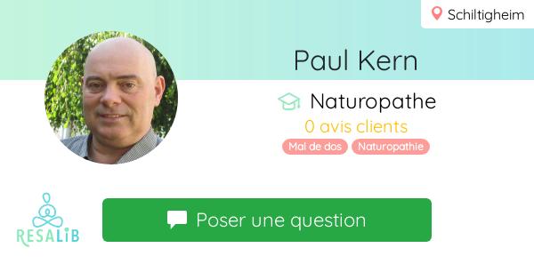 Prenez rendez-vous avec Paul KERN