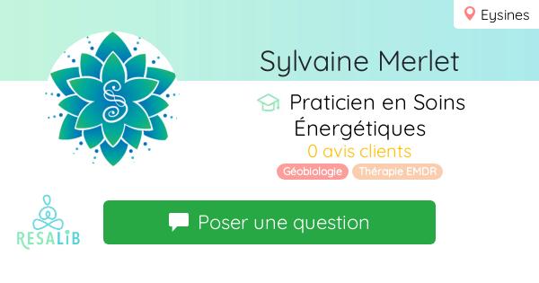 Prenez rendez-vous avec Sylvaine Merlet