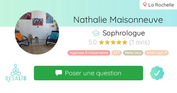Consulter le profil de Nathalie Maisonneuve