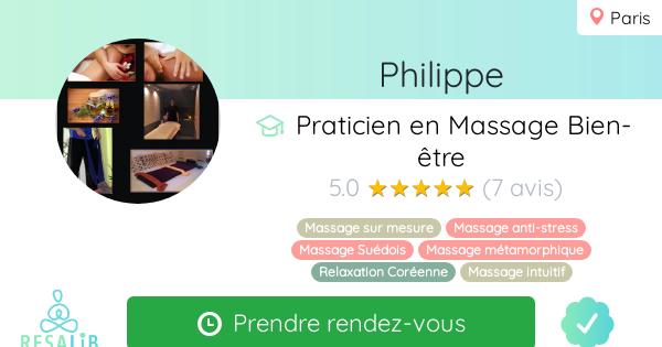 Prenez rendez-vous avec Philip