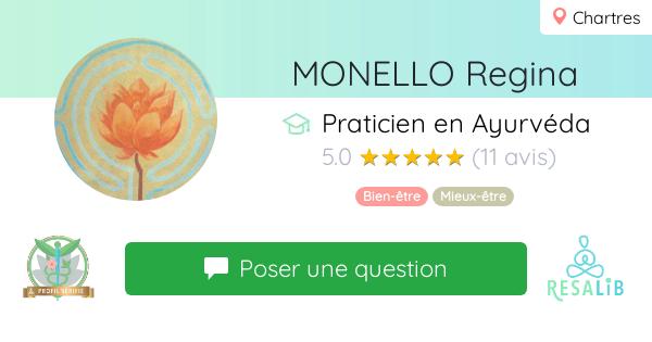 Prenez rendez-vous avec MONELLO Regina