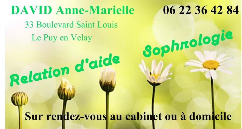 photo activite Anne-Marielle DAVID Sophrologie Relation d'aide