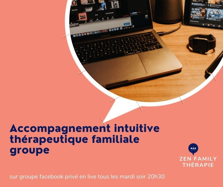 illustration Inscription de l'accompagnement intuitive thérapeutique familiale groupe